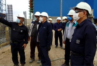 بازدید مدیرعامل محترم میدکو از پروژه های فولاد بوتیا و آهک و دولومیت