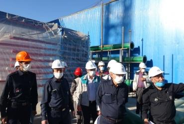 بازدید مدیرعامل محترم میدکو از پروژه های دردست اجرا در مجتمع فولاد بوتیا (12 آبان ماه)