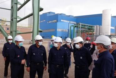بازدید مدیرعامل محترم میدکو از پروژه های دردست اجرا در مجتمع فولاد بوتیا
